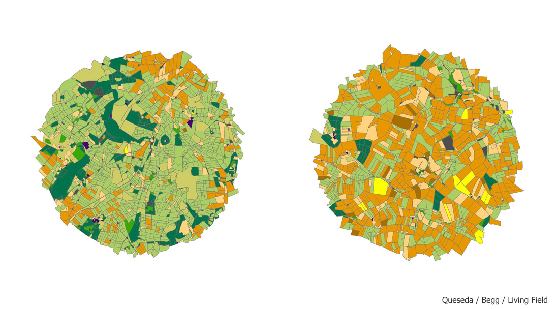 Detailed habitat maps that include both crop and semi-natural habitats are used to analyse and model the response of pests and natural enemies to the landscape