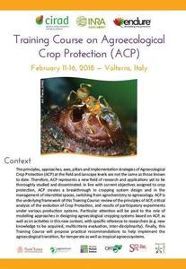 Agroecological Crop Protection training course